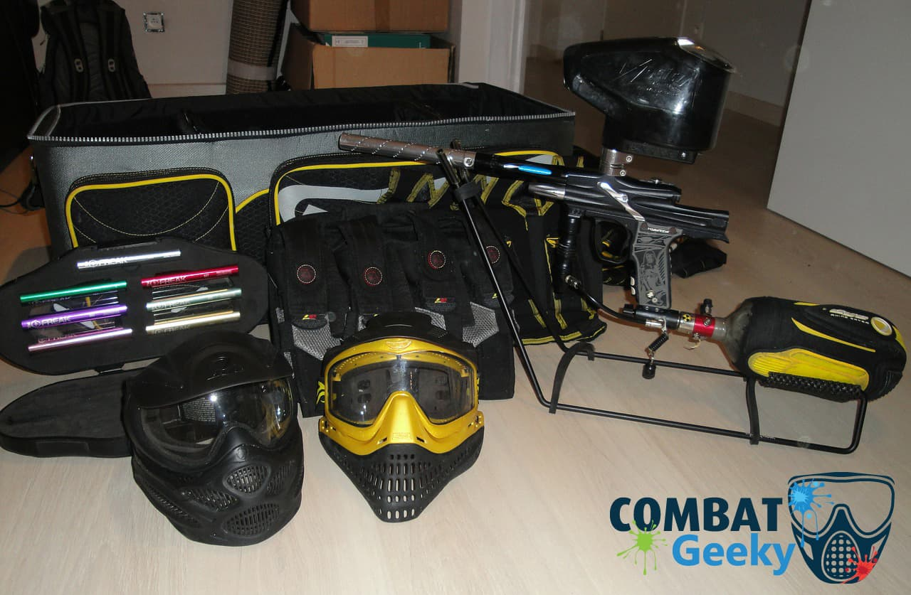 clean, care and maintanance of paintball gears