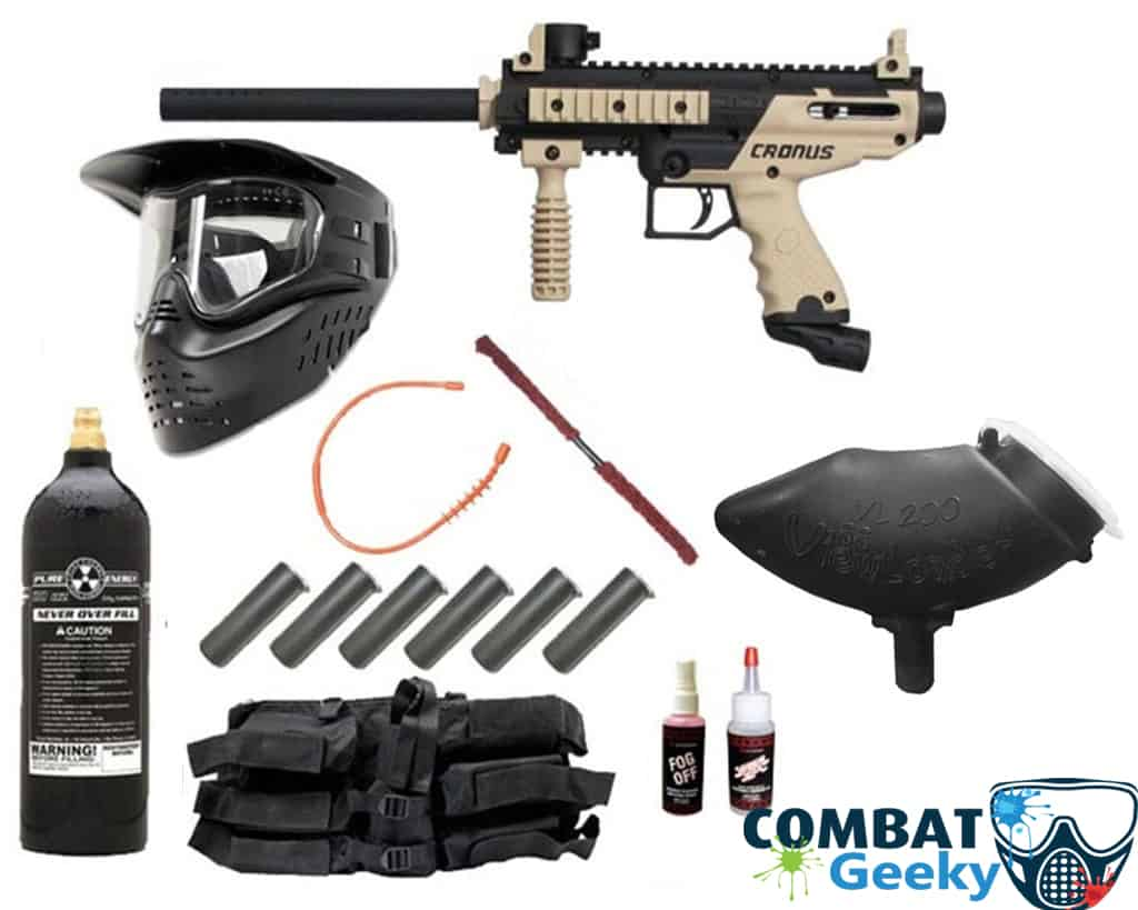 essential paintball gears