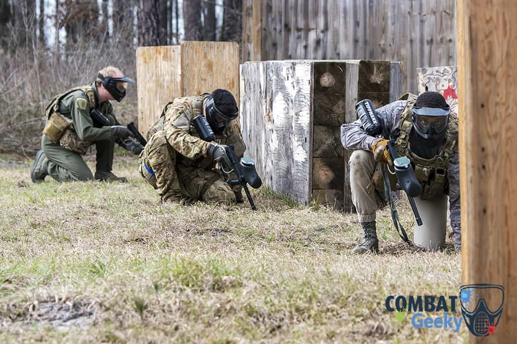 tips for attack/defend paintball game