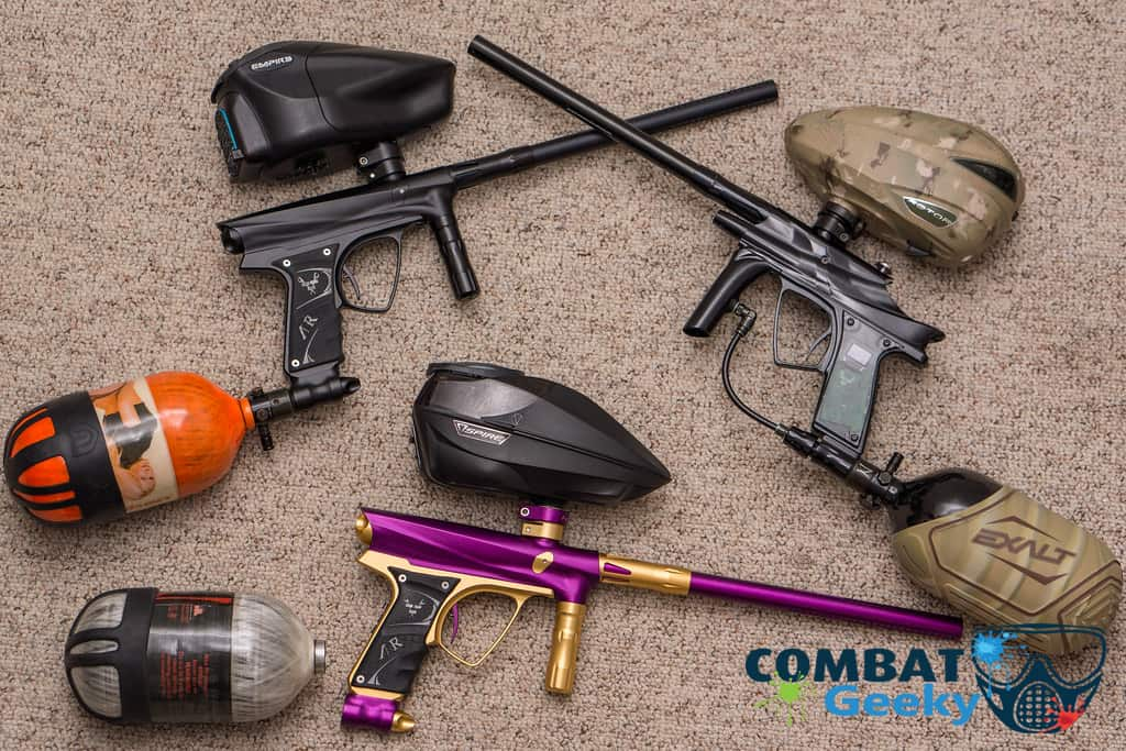 customize your paintball gear