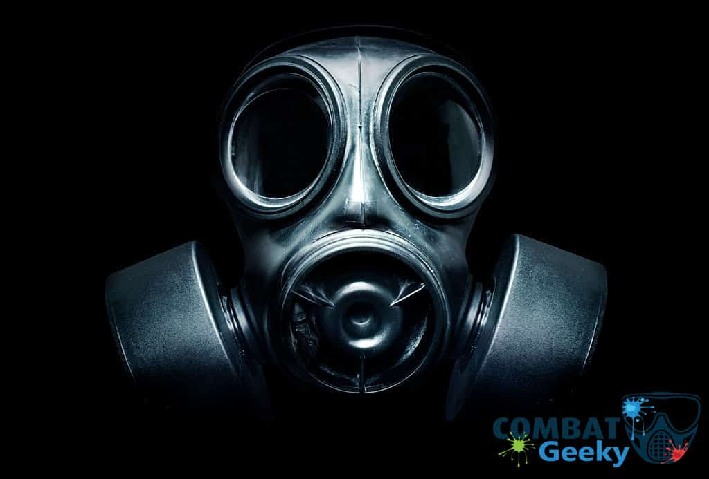 gas mask for paintball
